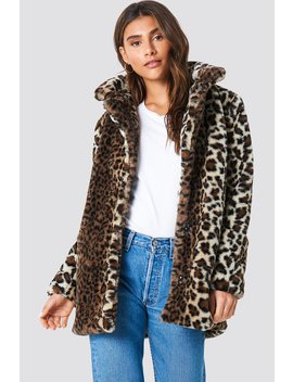 Faux Fur Leo Jacket by Na Kd