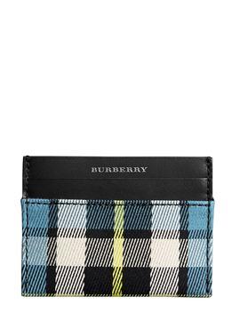 Sandon Tartan Mix Card Case by Burberry
