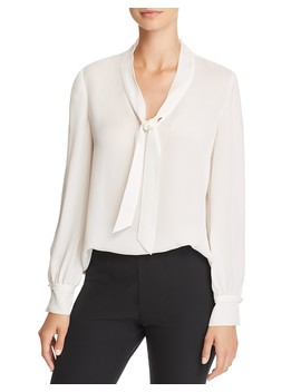 Sophie Silk Top   100 Percents Exclusive by Rebecca Taylor