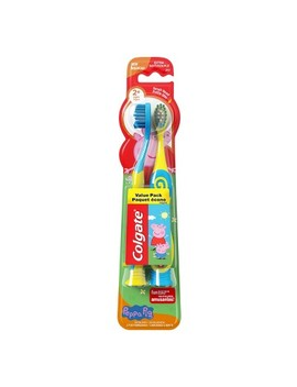Colgate Kids Peppa Pig Manual Toothbrush   2ct by Shop All Colgate
