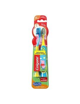 Colgate Kids Peppa Pig Manual Toothbrush   2ct by Shop All Colgate