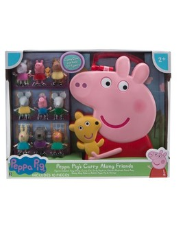 Peppa Pig Carry Along Friends   10pc by Shop All Peppa Pig