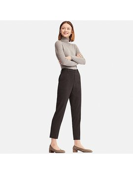 Women Ezy Ankle Length Flannel Pants by Uniqlo