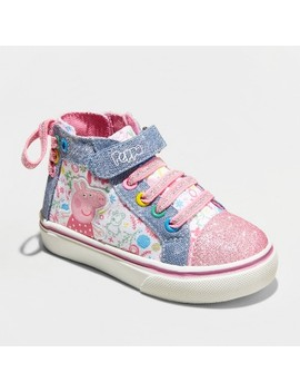Toddler Girls' Peppa High Top High Top Sneakers by Shop All Peppa Pig