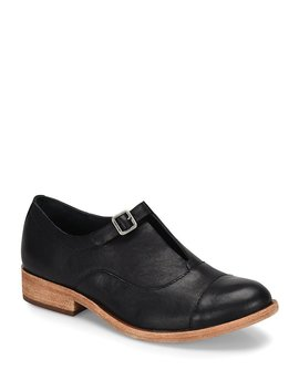 Niseda Leather Oxfords by Generic