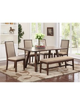 Darby Home Co Chandeleur 6 Piece Dining Set by Darby Home Co