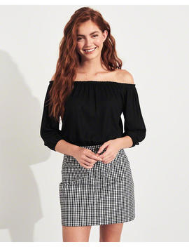 Off The Shoulder Ultra Crop Top by Hollister