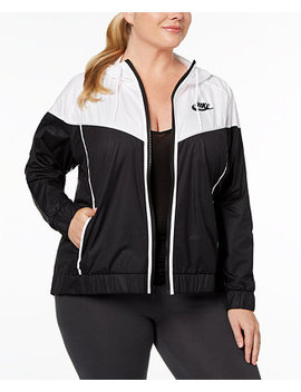 Plus Size Sportswear Windrunner Jacket by Nike