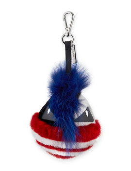 Punk Bag Bug Fur Charm For Bag Or Briefcase by Fendi