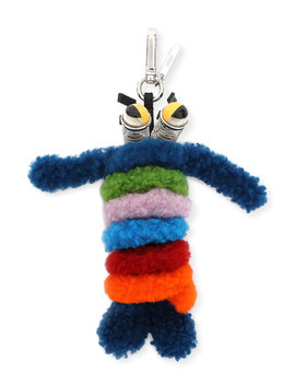 Shearling Monster Spring Charm For Bag Or Briefcase by Fendi