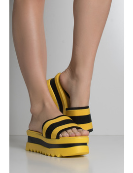 Flattering Platform Sandals by Akira