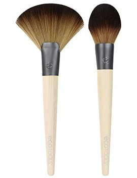 Ecotools Cruelty Free Define And Highlight Duo, Made With Renewable Bamboo And Recycled Materials, Tapered Bristles, Highlight And Define, Best Used With Powders, Bronzers... by Eco Tools