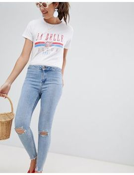 New Look High Waist Super Skinny Jeans by New Look