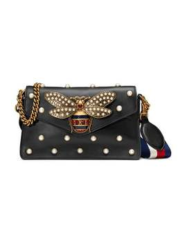 Gucci Broadway Leather Mini Baghome Women Gucci Bags Mini Bags by Gucci