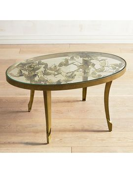Golden Butterfly Coffee Table by Pier1 Imports