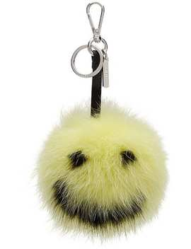 Smiley Face Keyring by Fendi