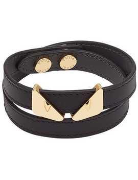 Bag Bugs Double Wrap Bracelet by Fendi