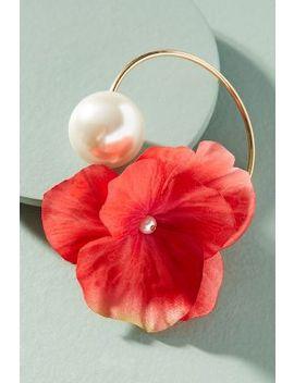 Floral Arrangement Pearl Cuff by Anton Heunis