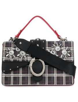 Darsena Embellished Check Bag by Liu Jo