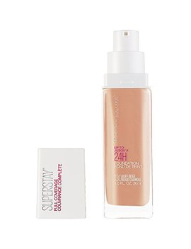 Maybelline Super Stay Full Coverage Foundation, Buff Beige, 1 Fl. Oz. by Maybelline New York