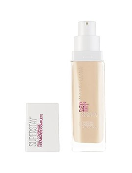 Maybelline Super Stay Full Coverage Foundation, Porcelain, 1 Fl. Oz. by Maybelline New York