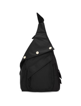 Black Eastpack Edition Organized Sling Backpack by Raf Simons