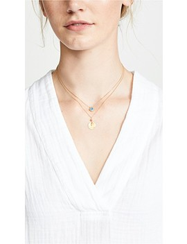 Coin Short Necklace by Chan Luu