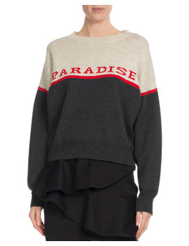 Kepson Colorblock Graphic Sweater by Etoile Isabel Marant