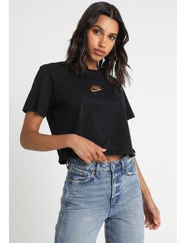 Air  Crop   T Shirt Print by Nike Sportswear