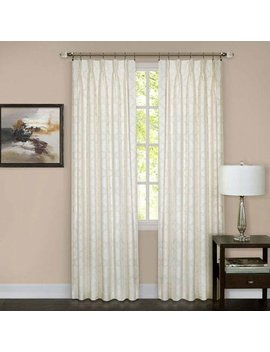 Achim Home Furnishings Wnpp63 Iv06 Windsor Phinch Pleat Pane, 34 X 63, Ivory by Achim Home Furnishings