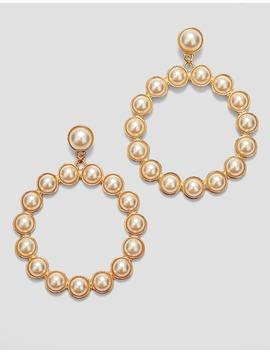 Boucles D'oreilles Rondes Perles by Stradivarius