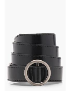 Ring Buckle Belt by Boohoo