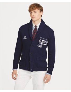 Us Open Cotton Cardigan by Ralph Lauren