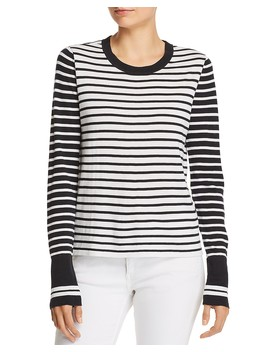 Angela Striped Sweater   100 Percents Exclusive  by Rag & Bone/Jean