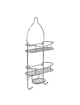 Lifestyle Home Beyond Value Steel Shower Caddy In Chrome by Bed Bath And Beyond
