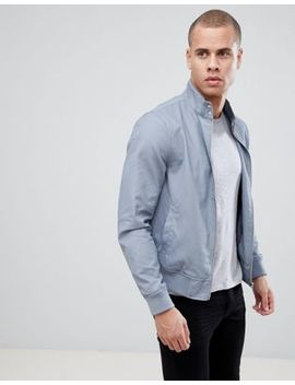 New Look Harrington Jacket In Light Blue by New Look