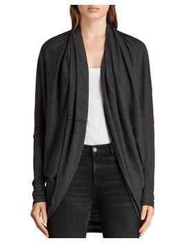 Itat Jersey Shrug   100 Percents Exclusive by Allsaints