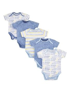 Mini Club 5 Pack Bodysuits by Mini Club