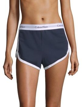 Logo Sleep Shorts by Calvin Klein