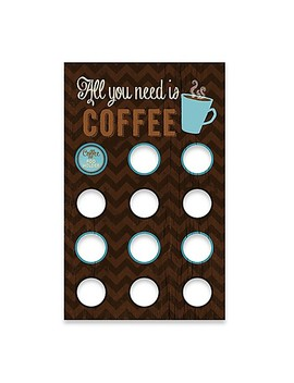 Coffee Pod Holder Functional Wall Art by Bed Bath And Beyond
