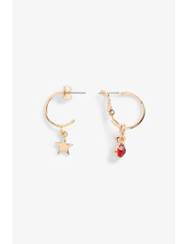 Mismatched Earrings by Monki