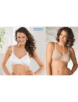 Naturana Ladies Women's Soft Cup Everyday Bra 100 Percents Cotton Size 34 A To 44 Dd New by Ebay Seller