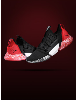 Puma Men Black Hybrid Rocket Running Shoes by Puma
