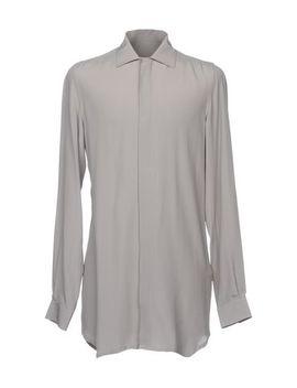 Rick Owens Einfarbiges Hemd   Hemden U by Rick Owens