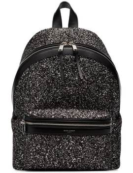 Saint Laurentblack City Glitter BackpackГлавная страницаЖенскоеsaint LaurentСумкиРюкзаки by Saint Laurent