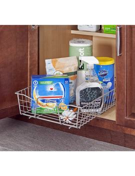 Closet Maid Nickel Pull Out Cabinet Organizer by Closet Maid