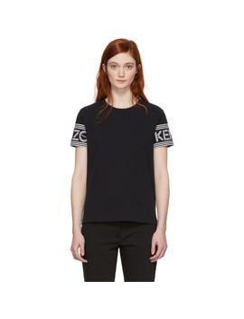 Black 'kenzo Sport' Straight T Shirt by Kenzo