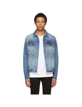 Blue Denim L'homme Jacket by Frame