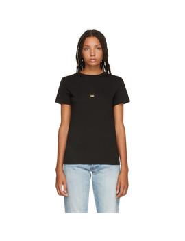 Black London Edition Taxi T Shirt by Helmut Lang
