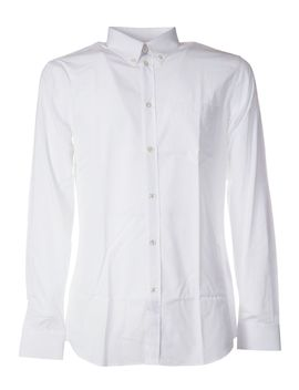 Givenchy Striped Trim Classic Shirt by Givenchy